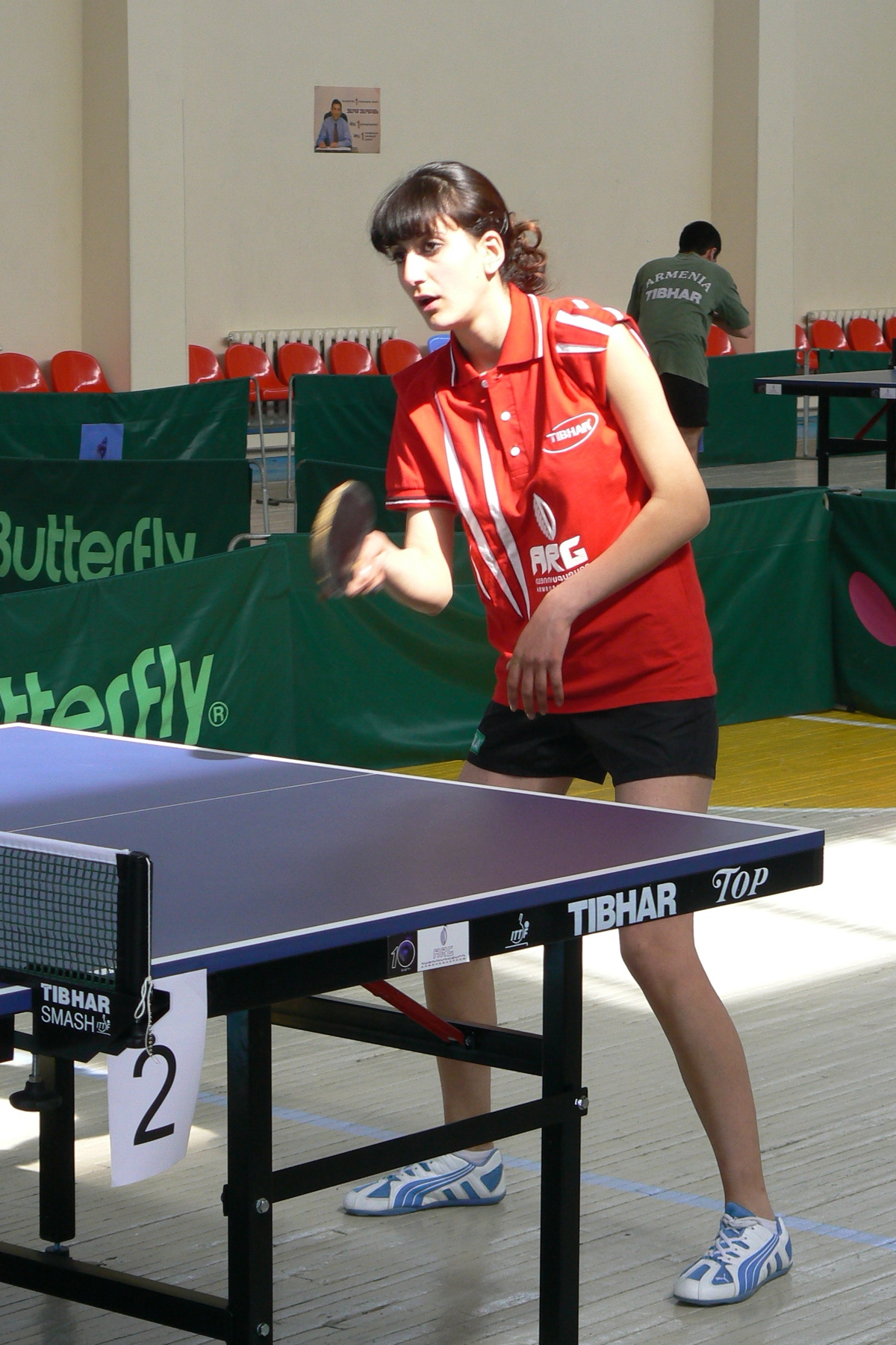 Двухдневный турнир по настольному теннису с участием 24 сильнеших теннисистов(07-05-2007)