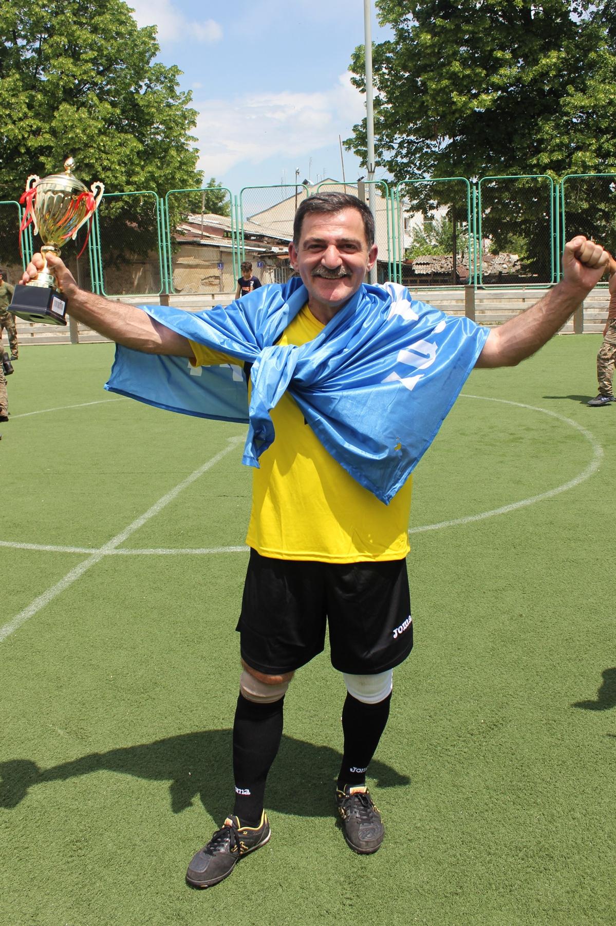 Турнир по мини-футболу между командами ЗАО «АрмРосгазпром», ЗАО «Арцахгаз» и ЗАО «Арцахэнерго»