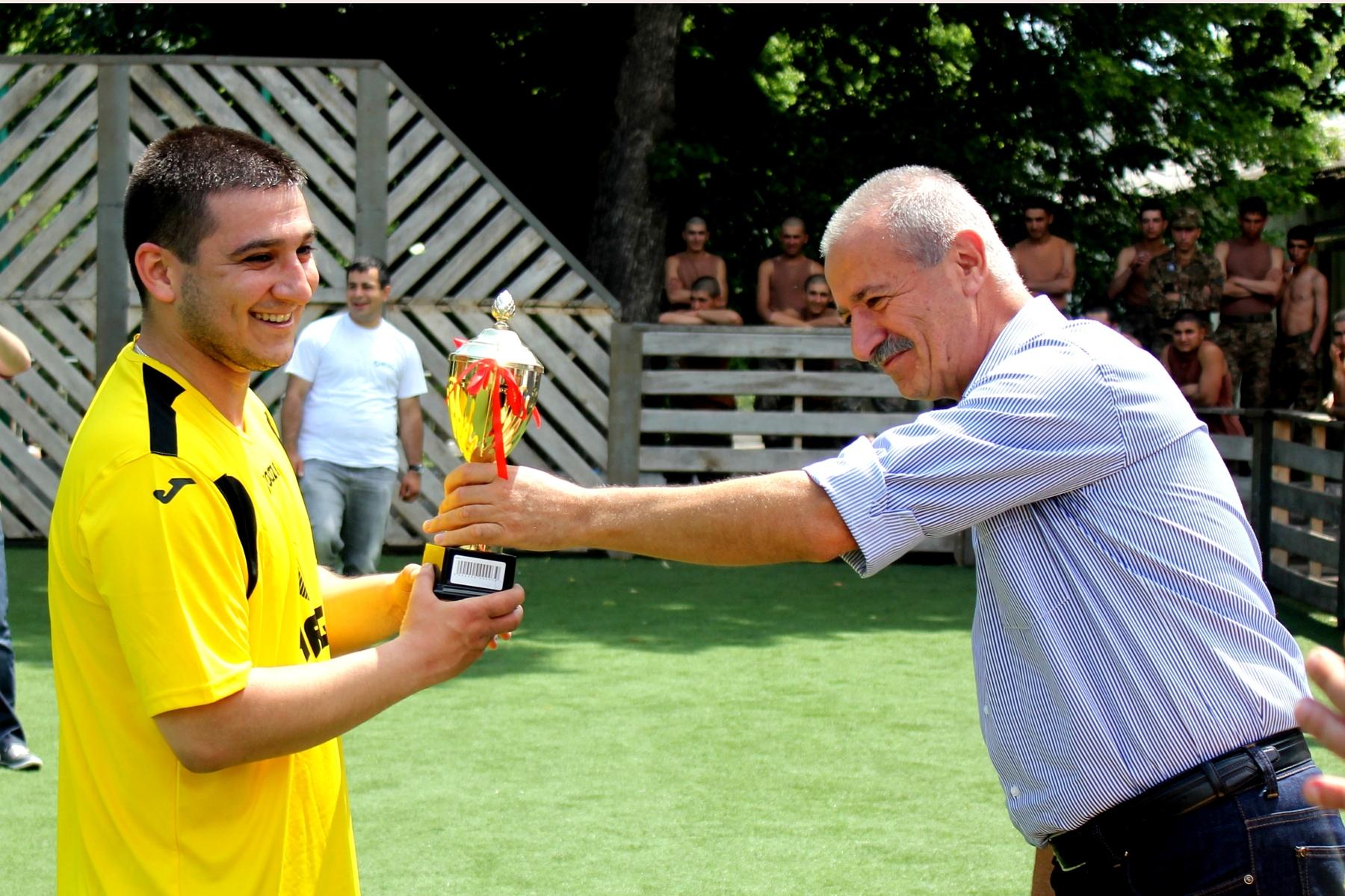 26-28 мая в Степанакерте состоялся турнир по мини-футболу между командами ЗАО «АрмРосгазпром», ЗАО «Арцахгаз» и ЗАО «Арцахэнерго»